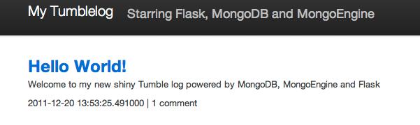 flask mongoengine create database